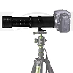 JINTU 420–800mm Super-Telezoom Manueller Fokus