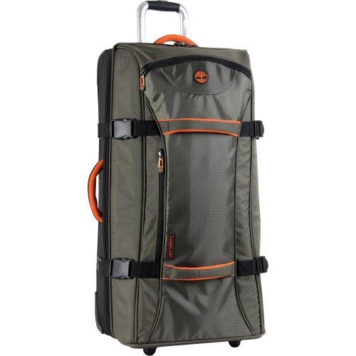 Timberland, Valigia, Burnt Olive/Burnt Orange (Verde) - 3683C04