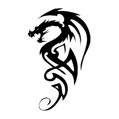 Tribal Dragon Tattoo Amazoncom
