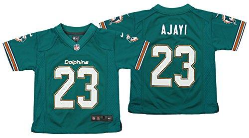 Nike NFL Kid's Miami Dolphins Jay Ajayi #23 Aqua Game Jersey Small (4)