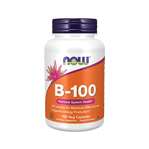 Now Foods La vitamina B-100-100 vcaps 100 Unidades 150 g
