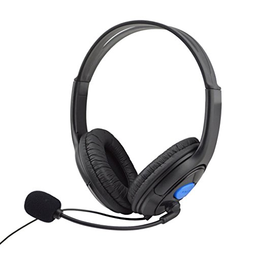TOOPOOT Wired Gaming Headset With Microphone For Sony PS4 Play