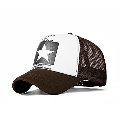 XMYNB Baseball Cap Baseball Cap Women Baseball Hat Breathable Men Women Summer Mesh Cap Baseball Caps F