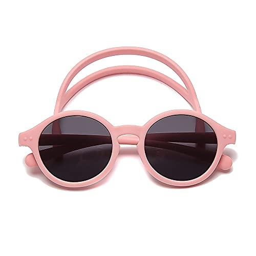 Select Zone Gafas de sol para niños, ovaladas, material ligero, polarizadas, gafas de protección para niños y niñas
