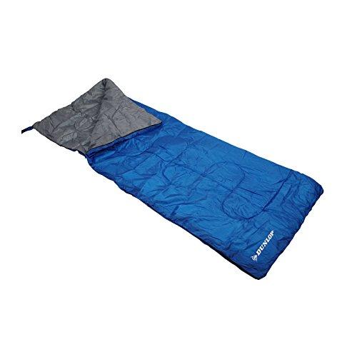 Dunlop slaapzak 190 x 75, blauw