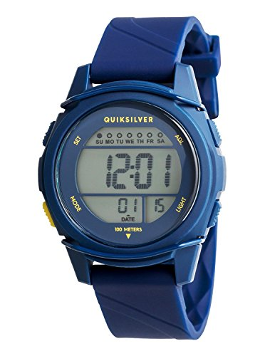 Quiksilver - Reloj Digital - Niños 8-16 - ONE SIZE - Azul