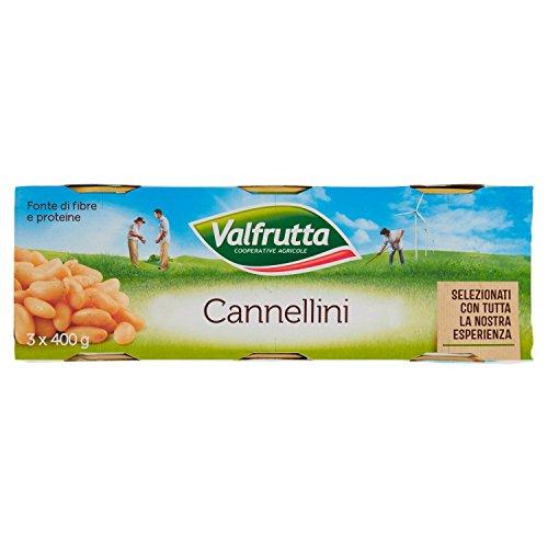 Valfrutta Fagioli Cannellini, 3 x 400g