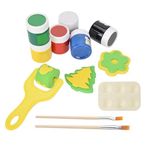 Set de pintura de dedos para niños, kit de pintura de dedos de seguridad para niños, fórmula respetuosa con el medio ambiente delicada para niños