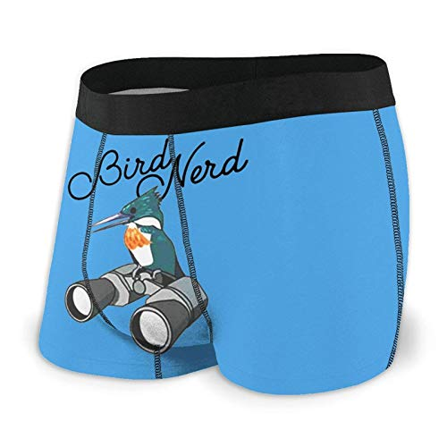 XCNGG Herrenunterwäsche Slips Boxershorts Nerd Birdwatching Men's Fashion Boxer Briefs High Waist Underwear Tight Stretch Boxer Shorts