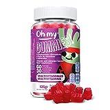 Oh My Gummie! Multivitaminas - Ayuda a mantener la energia y la absorción del hierro y el calcio. Contribuye a la reducción de cansancio y fatiga.