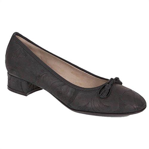 dirndl + bua 559506 Ballerina Flamenco Suede schwarz Größe 38