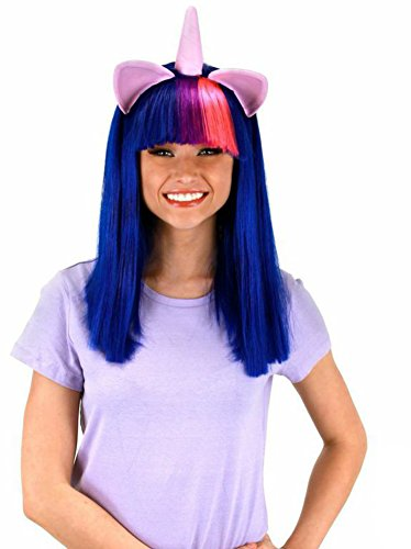 elope Twilight Sparkle Costume Wig with Ears - http://coolthings.us