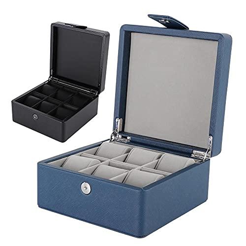 Aufbewahrungsbox Für Uhren Praktischer Für Aufbewahren & Ordnen Uhr Display Box Aufbewahrungsbox-Display-Organizer Aus Pu K?Rbe & Beh?Lter