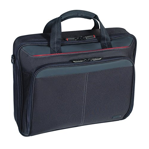 Targus Classic Clamshell Laptop Bag specifically designed to fit up to 15-15.6', Black (CN31) ,4334364