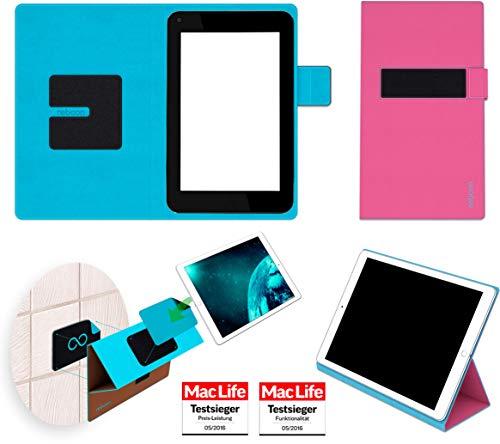 Hülle für HP Slate 7 Plus Tasche Cover Hülle Bumper | in Pink | Testsieger