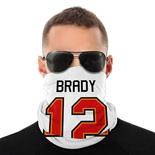 Tom Brady - Pañuelos para la cara y el sol, para pesca, caza, patio, etc.