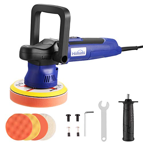 Cheap Polisher, HIMIMI 6 Inch Car Buffer Polisher Sander with 6 Variable Speed 2000-6400RPM, Detacha...