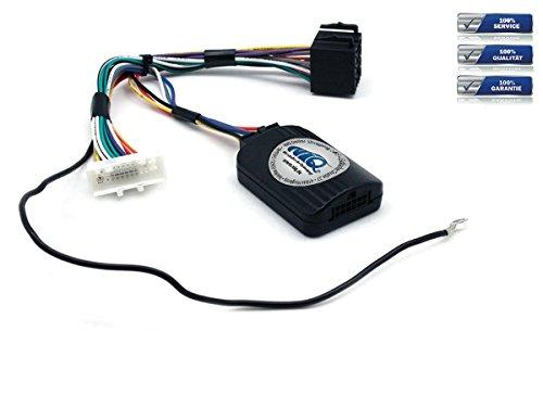 NIQ Lenkradfernbedienungsadapter geeignet für PUMPKIN Autoradios, kompatibel mit Nissan Qashqai / X-Trail / Navara / Micra