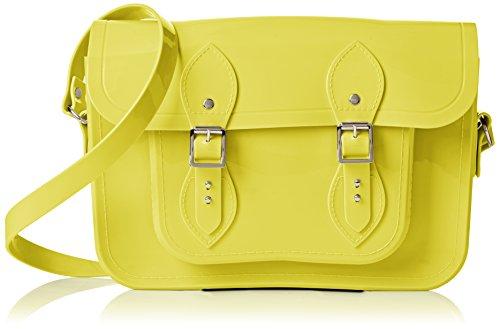 Melissa + Cambridge Satchel Collaboration Messenger Bag, 26 cm, Canary
