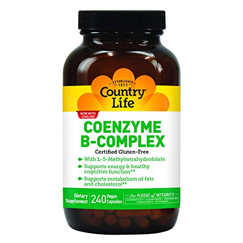 Country Life Coenzyme B Complex, 240-Count