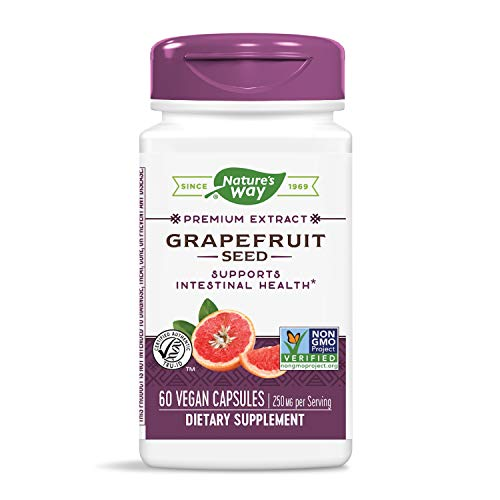 Nature's Way, Grapefruit Seed, Standardized, x60Vcaps