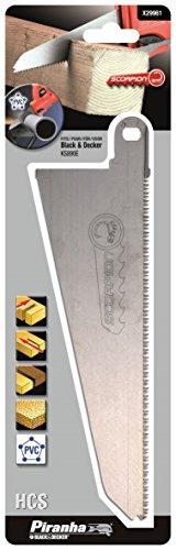 BLACK+DECKER X29961-XJ Lama per tagli diritti e rapidi su legno,plastica e materiali simili (KS890-KS880)
