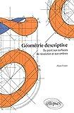 Géométrie descriptive - Du point aux surfaces de révolution et aux ombres
