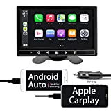 """Binize 7 Inch Touchscreen Portable Apple CarPlay & Android AUTO Car Stereo Receiver,7""""MP5 Player with Bluetooth, FM Transmitter, USB/SD/TF Card Reading, Remote Control"""