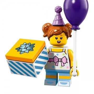 Lego 71021 Minifigures Serie 18 – Chica Fiesta de cumpleaños – Brixplanet