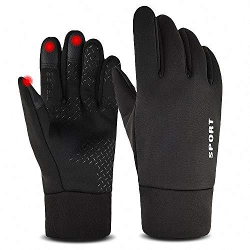 SANBLOGAN Touchscreen Handschuhe, Kletterhandschuhe Damen Skihandschuhe Fahrradhandschuhe Herren Winter Wasserdicht/Winddicht/rutschfest/Wärme/Touchscreen für Laufen, Fahren, Radfahren, Wandern