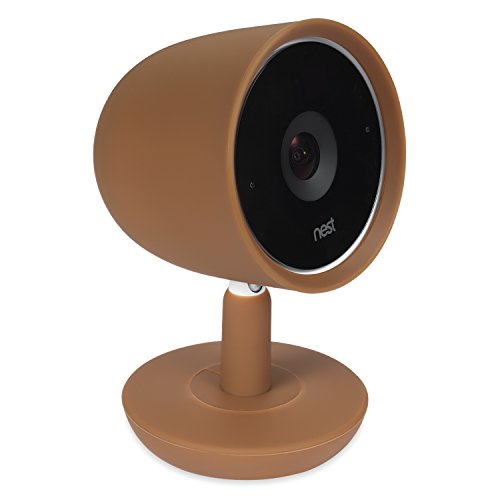 Colorful Silicone Skins Compatible with Nest Cam IQ Security Camera; Camouflage and Accessorize Your Nest Cam IQ Plus Camera in Your Favorite Colors