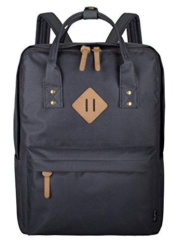 EcoCity Backpack Laptop Zaini Cartella Daypack Classic,BP0151D2,Grigio Scuro
