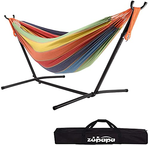 Zupapa Hammock with Stand 2 Person, 550...