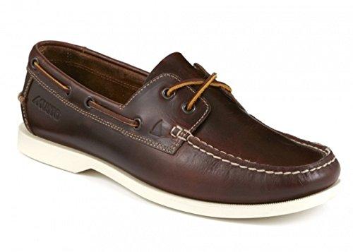 Musto Musto Herren Bootsschuh Nautic Bay, Größe:42.5, Farbe:Dark Brown/Tobacco