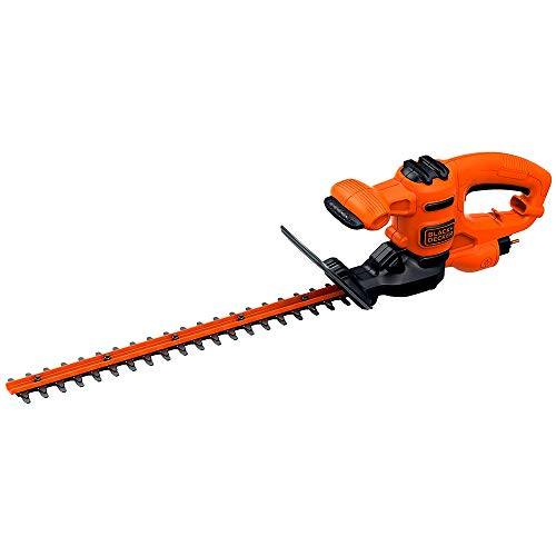 Black+Decker BEHT201-QS BEHT201-QS-Cortasetos, 420 W, 45 cm/16 mm