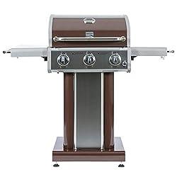 top 10 kenmore gas grill Kenmore PG-4030400L-AM3 Burner Patio Gas Grill Propane Grill, Dark Mocha
