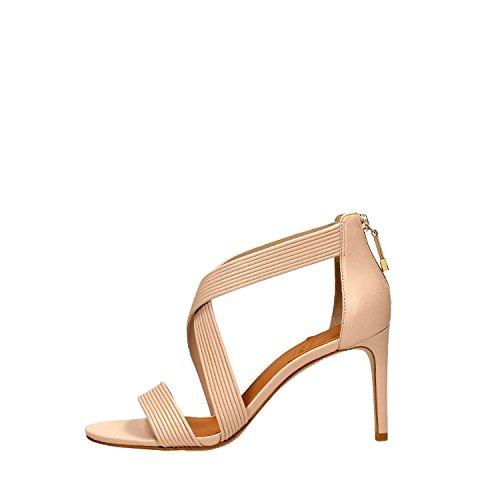 What For 208 Sandalo Alto Donna Pelle Beige Beige 37