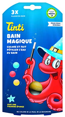 Tinti Bain Magique 3 Boules, 15000339, Rouge, Bleu, Jaune
