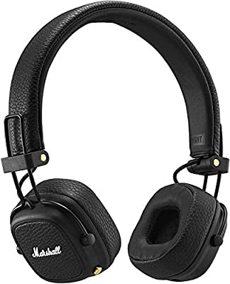 Marshall Major III Foldable Bluetooth Headphones - Black from Zound Industries