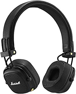 Marshall Major III Bluetooth Headphones, Collapsible Wireless On-Ear Headphones, with 30+ Hours of Wireless Playtime and Multi-Directional Control Knob, Black (B07CDZD8B7) | Amazon price tracker / tracking, Amazon price history charts, Amazon price watches, Amazon price drop alerts