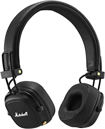 Marshall Major III Bluetooth Wireless On-Ear Headphones, Black - New