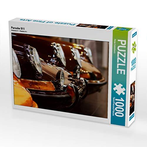CALVENDO Puzzle Porsche 911 1000 Teile Lege-Größe 64 x 48 cm Foto-Puzzle Bild von Peter Schürholz