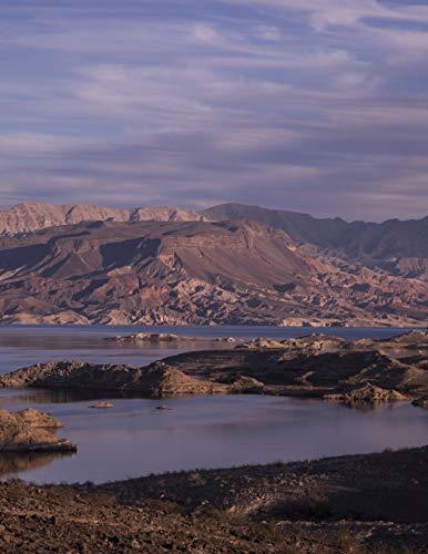 Notebook: Nevada Lake Mead landscape desert Arizona