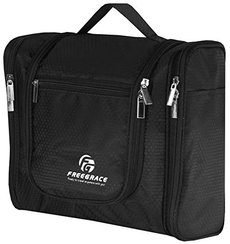 Hanging Toiletry Bag Extra Large Capacity | Premium Travel Organizer Bags For...