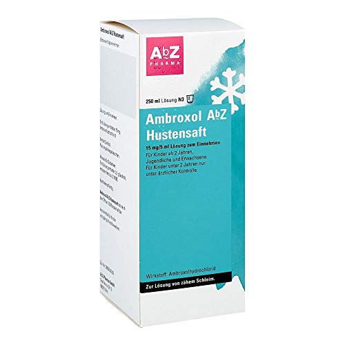 AMBROXOL AbZ Hustensaft 15 mg/5 ml 250 ml