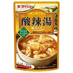ダイショー 豆腐と卵で作る 酸辣湯用スープ 300g×20袋入×(2ケース)