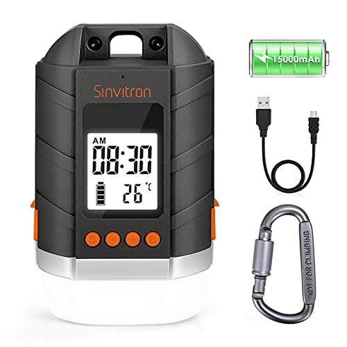 Sinvitron Rechargeable LED Campsite Lantern