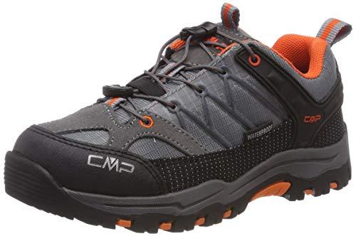 CMP Unisex-Kinder Rigel Low Trekking- & Wanderhalbschuhe, Grau (Stone-Orange 78uc), 33 EU