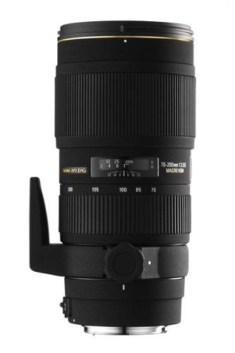 Sigma - Objetivo 70-200 mm f/2,8 EX DG HSM II con Macro (Rosca para Filtro de 77 mm) para Canon