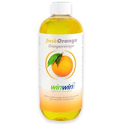 winwin clean Systemische Reinigung - Fresh ORANGE 1000ML I HOCHKONZENTRIERTER ORANGENREINIGER I SIE Werden BEGEISTERT Sein